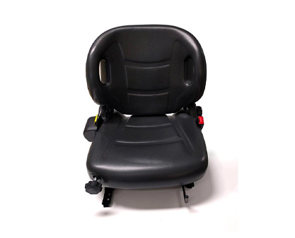 Wingback style suspension seat