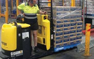 Adaptalift Hyster and AET improve productivity and reduce downtime at Coca-Cola Amatil