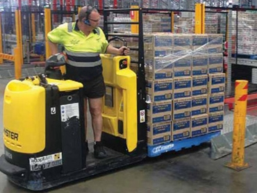 Adaptalift Hyster and AET improve productivity and reduce downtime at Coca Cola Amatil
