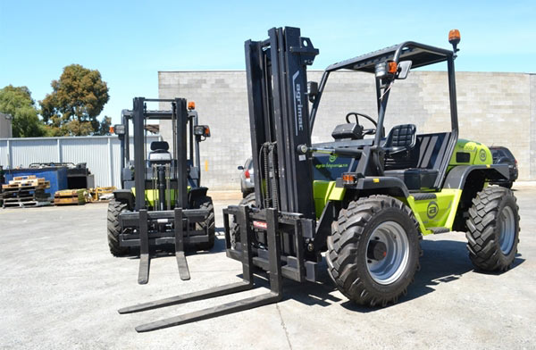 Agria All Terrain Forklift from Adaptalift Hyster 631252 xl