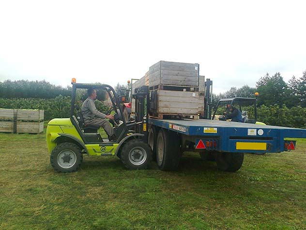 Agria forklift farming and agriculture industry