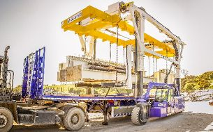 Combilift Improves Safety and Efficiency Loading Long Loads and Containers