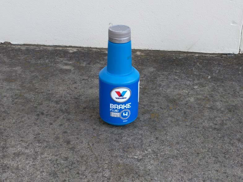 Consumables brake fluid