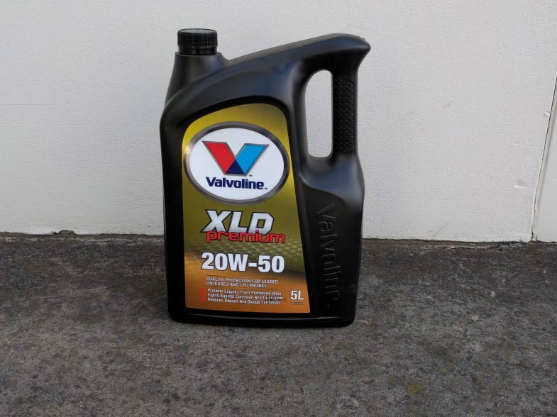 Consumables engine oil