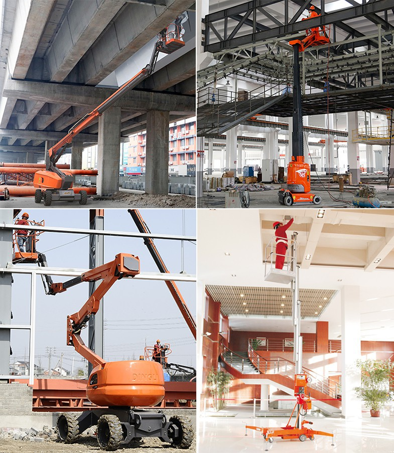 Dingli elevating work platforms scissor lift boom lift man lift
