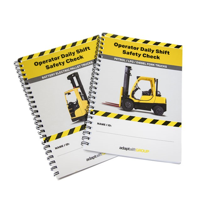 Forklift daily safety checklist