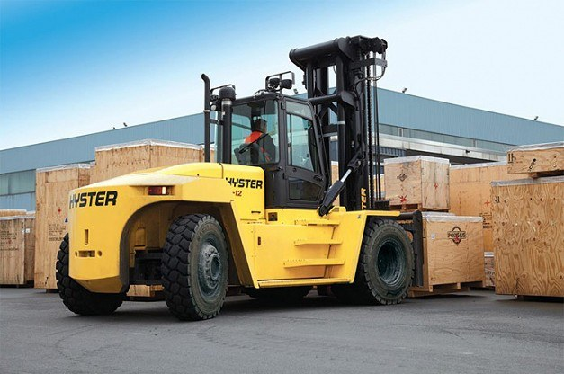Hyster combustion engine counterbalance forklift