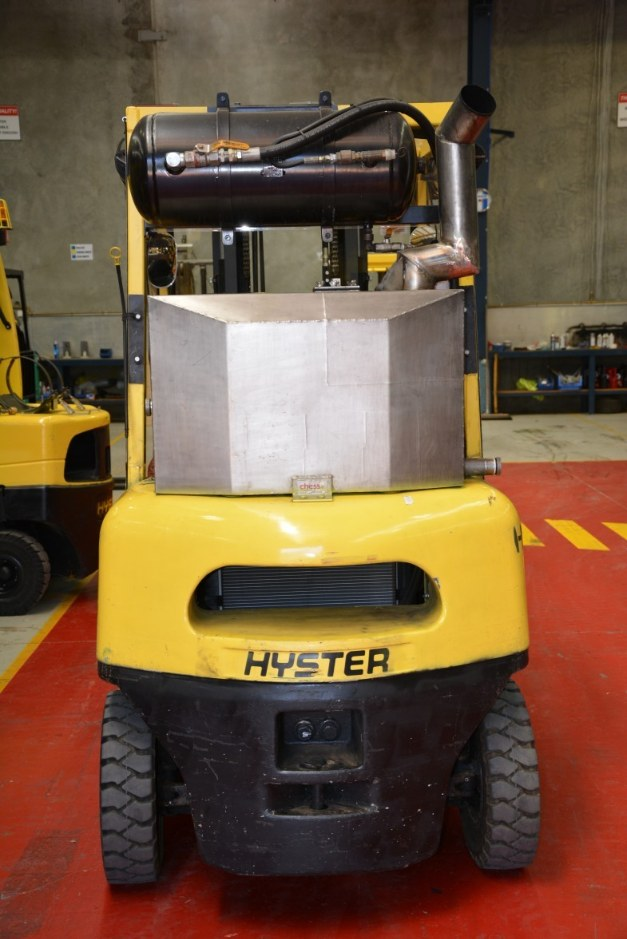 Hyster flameproof forklift air start