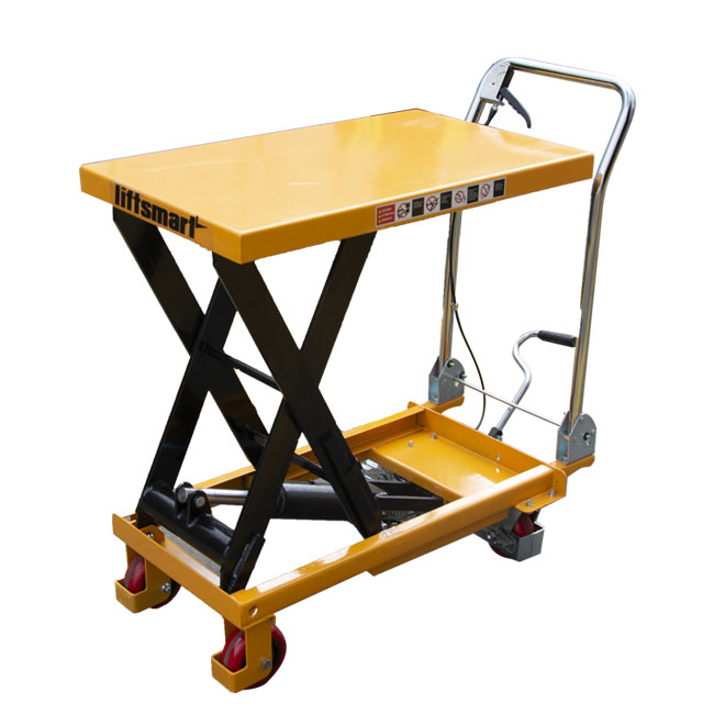 Portable scissor lift table