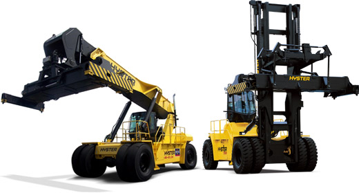 Reach Stacker vs Container Handler