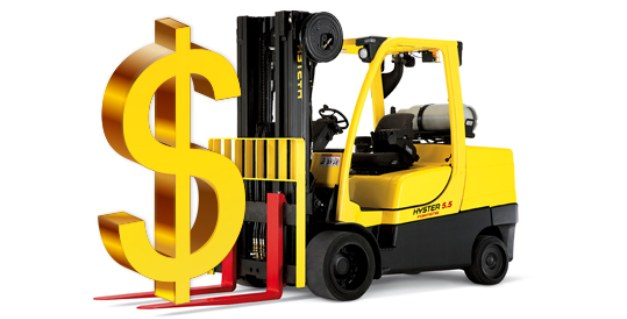 Short term forklift rental financial benefits