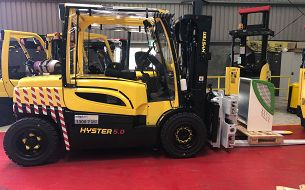 Sims Metal Management Invests in the Latest Electric Forklifts
