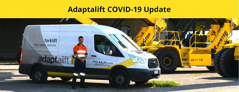 Adaptalift Group Covid-19 Update August 2020