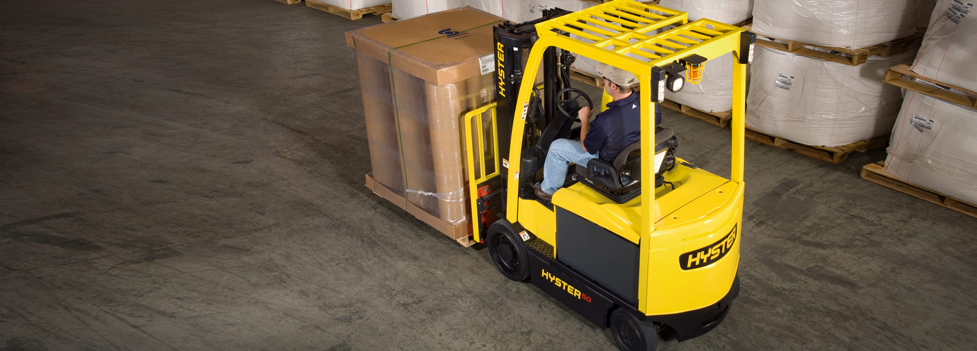 Hyster E45–70XN Electric Forklifts