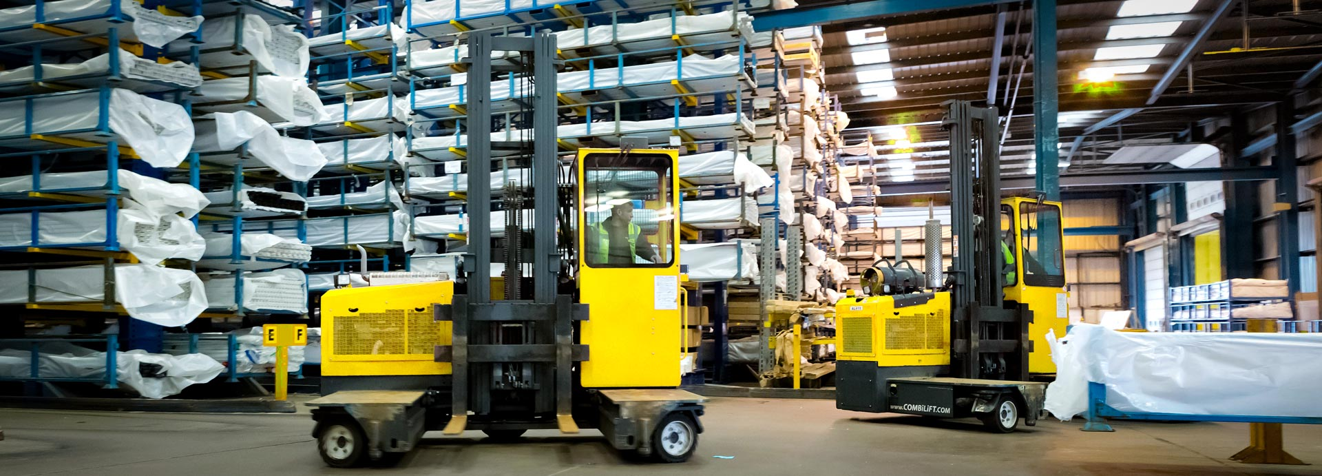 Combilift ST-Series Stand-On Forklift