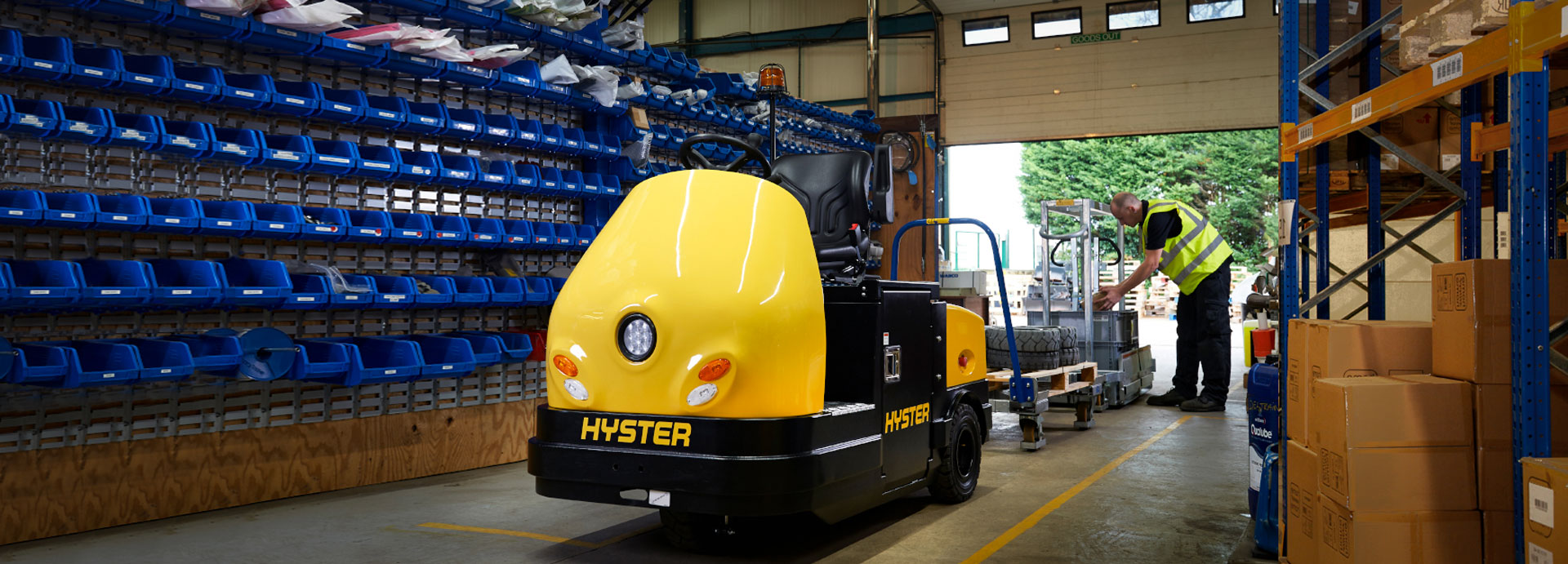 Hyster T7.0 HS3, T8.0 HS4 Tow Tractor
