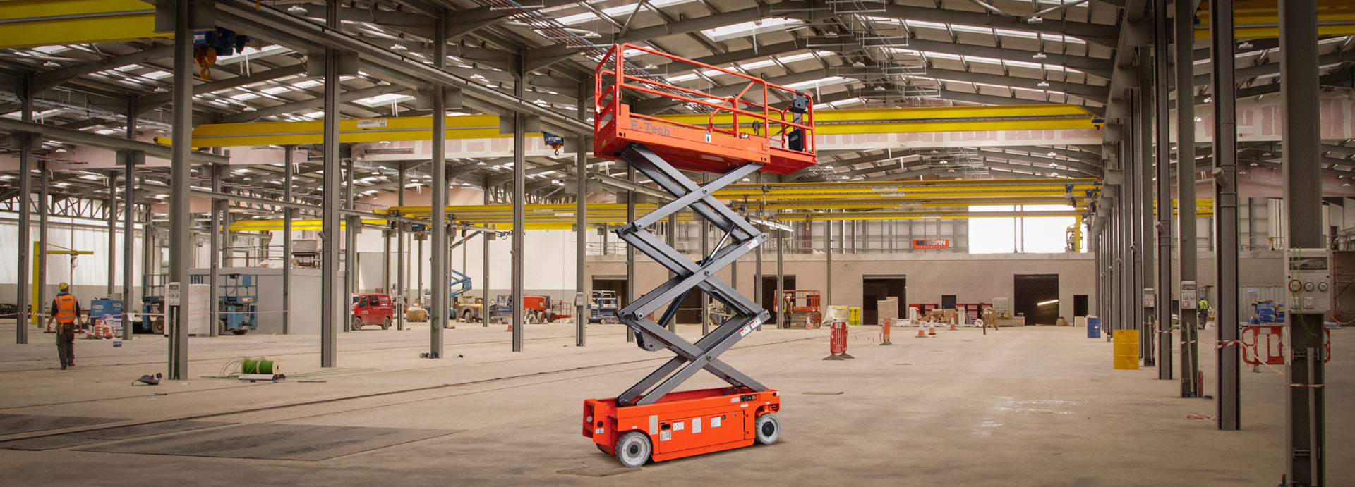 Dingli E-Tech S0608E Electric Scissor Lift