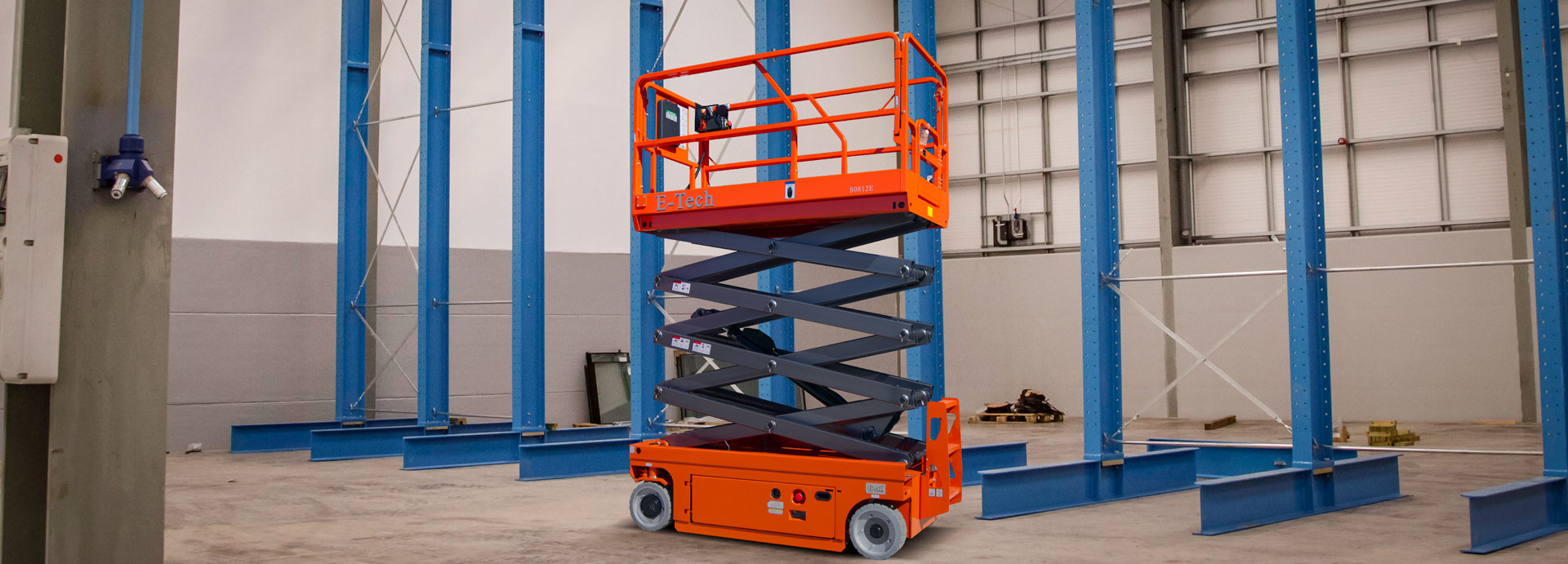Dingli E-Tech S0812E Electric Scissor Lift