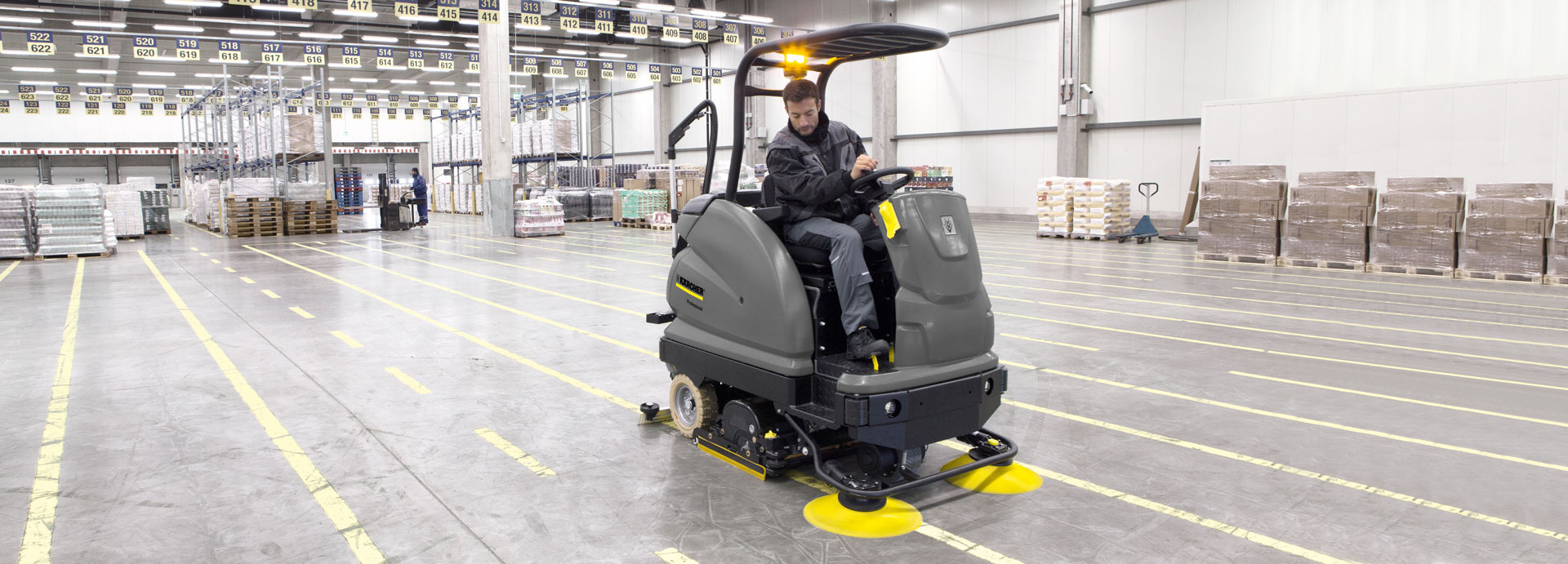 Kärcher B250 Scrubber Dryer