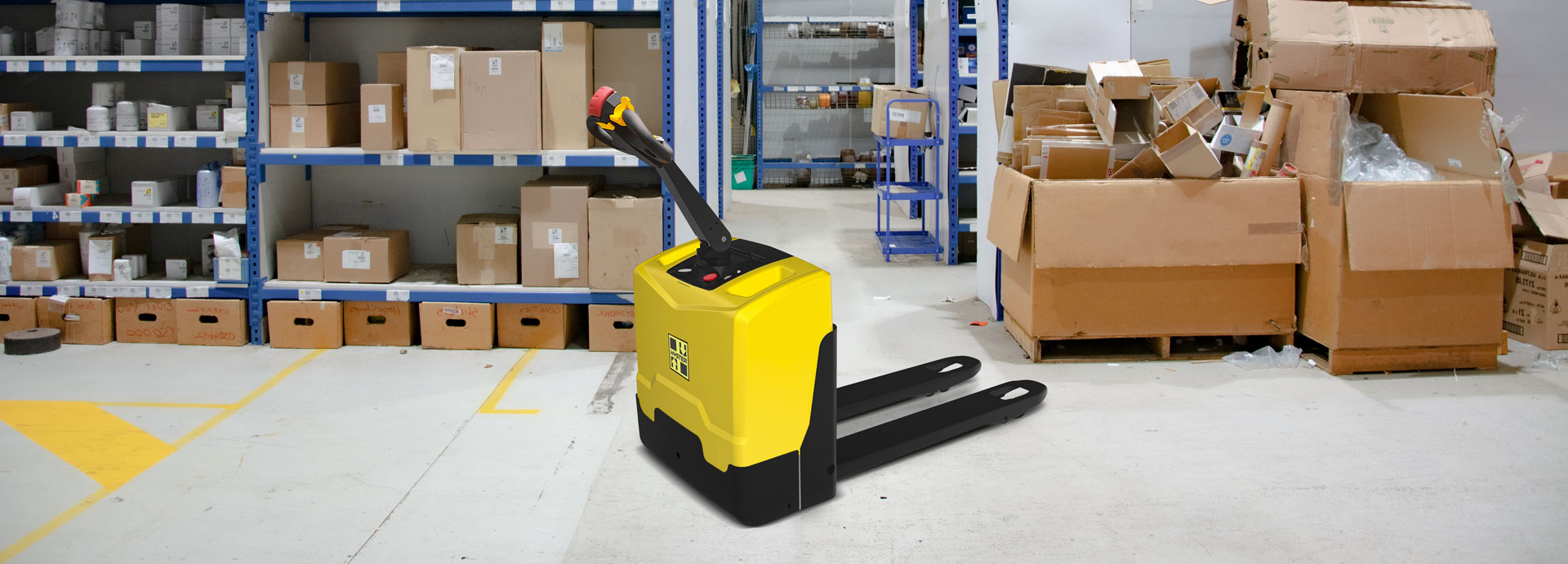 Hyster P2.0UTE Electric Pallet Truck