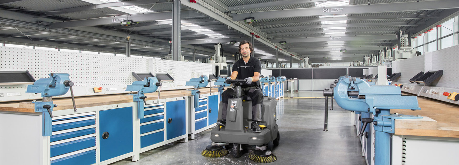 Kärcher KM 85/50 R Bp Sweeper