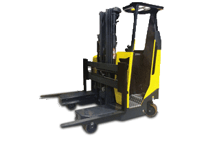 Multi-Directional Stand On Reach Truck 2.5 Tonne