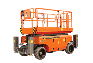 Rough Terrain Scissor Lift 10 m