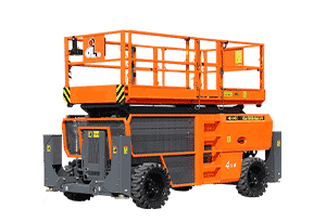 Rough Terrain Scissor Lift 13 m