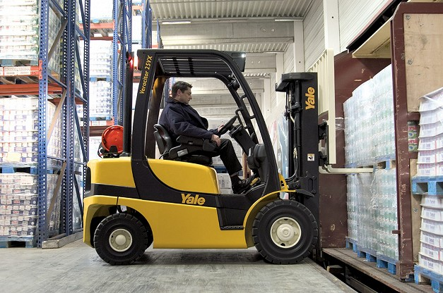 Yale GDP/GLP20-35VX Counterbalanced Forklifts