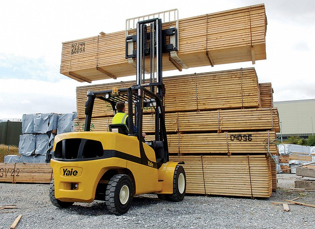 Yale GDP/GLP40-55VX Pneumatic Tyres Counterbalanced Forklifts
