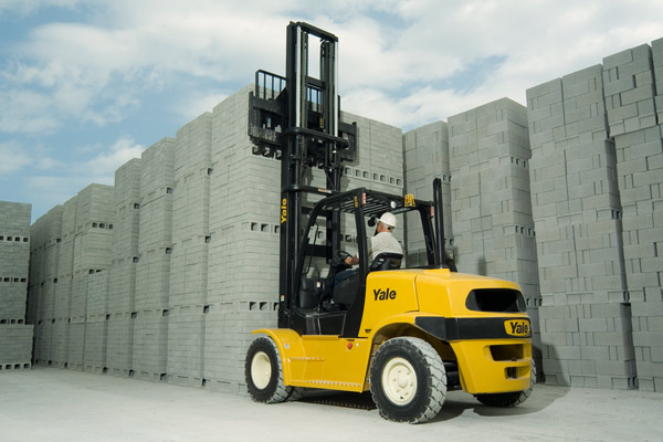 Yale GP135-155VX Heavy Duty Forklift Trucks
