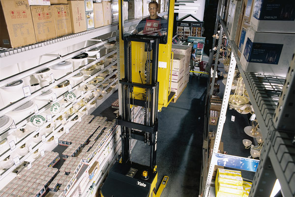 Yale OS030BF/EF & FS/SS030BF Narrow Aisle Order Picker