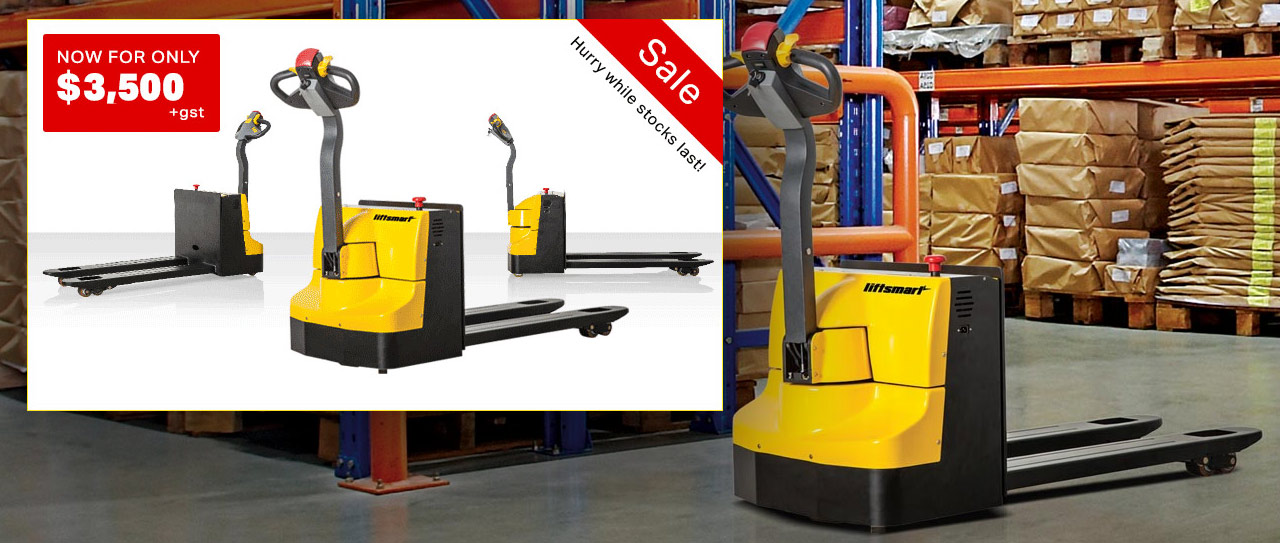 Special Offer: Liftsmart PT15-2 Electric Pallet Truck