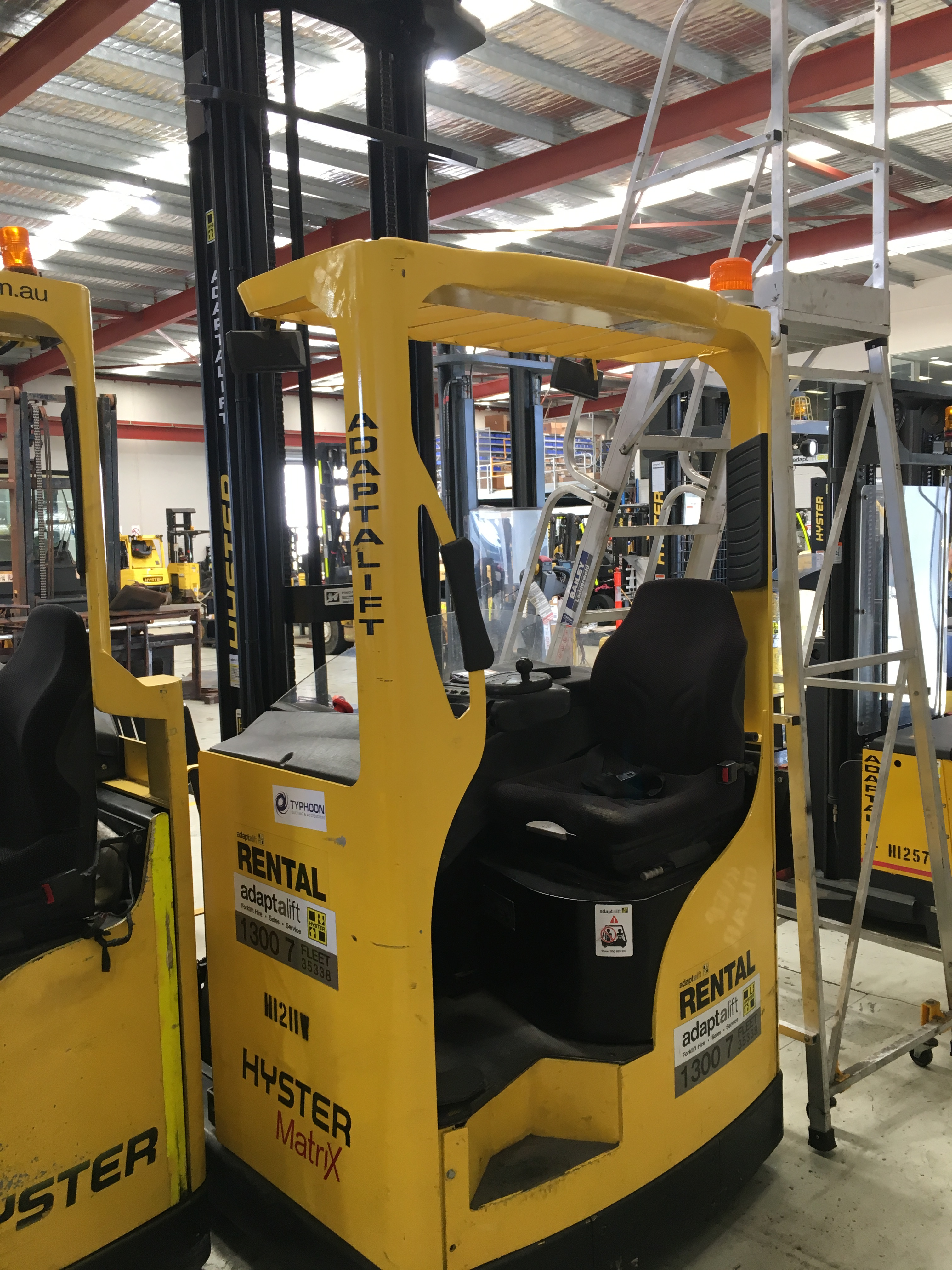 Used forklift: HYSTER R1.6