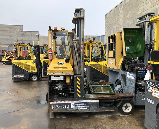 Used Forklift: COMBILIFT C3000