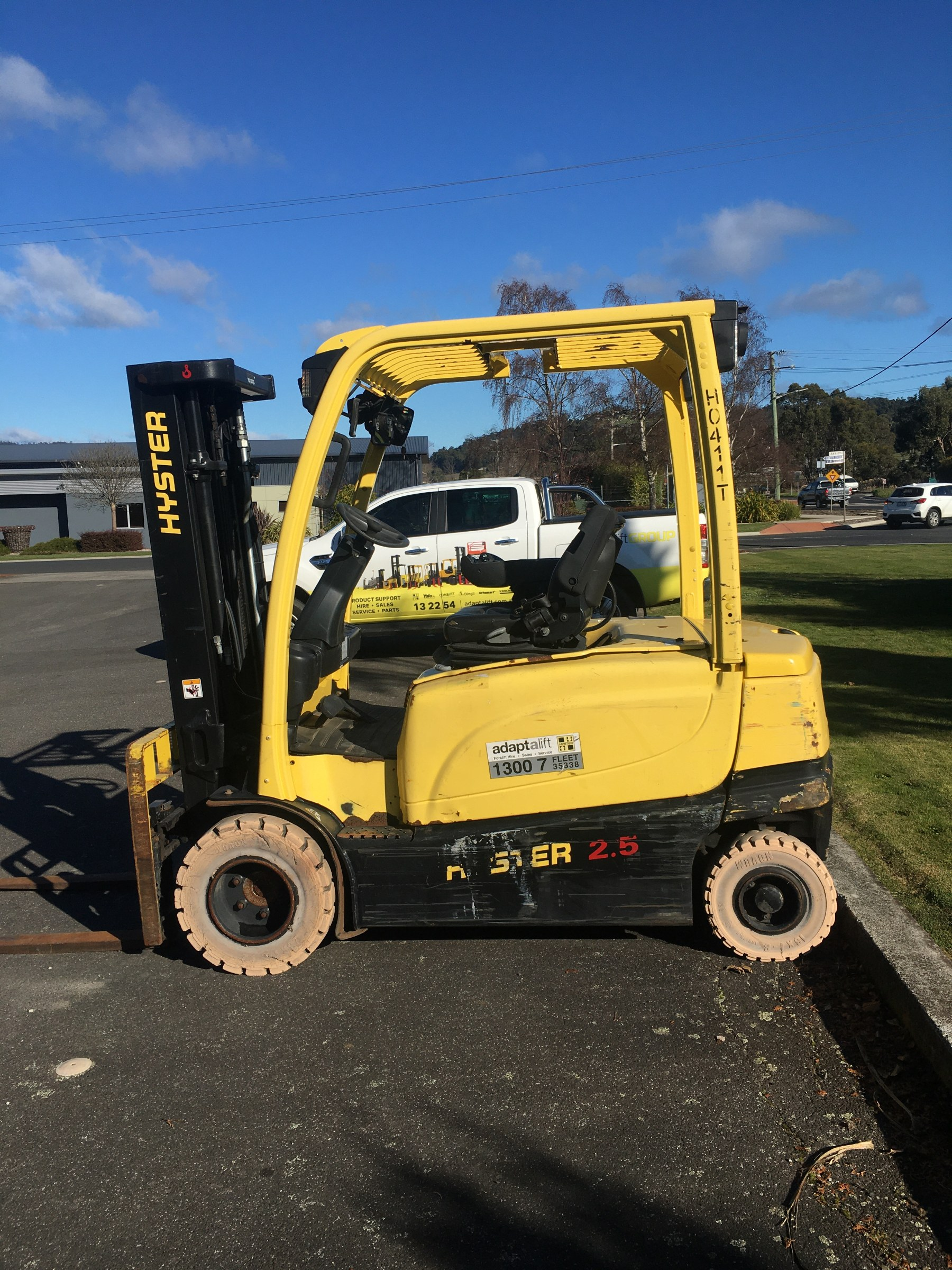 Used forklift: HYSTER J2.5XN