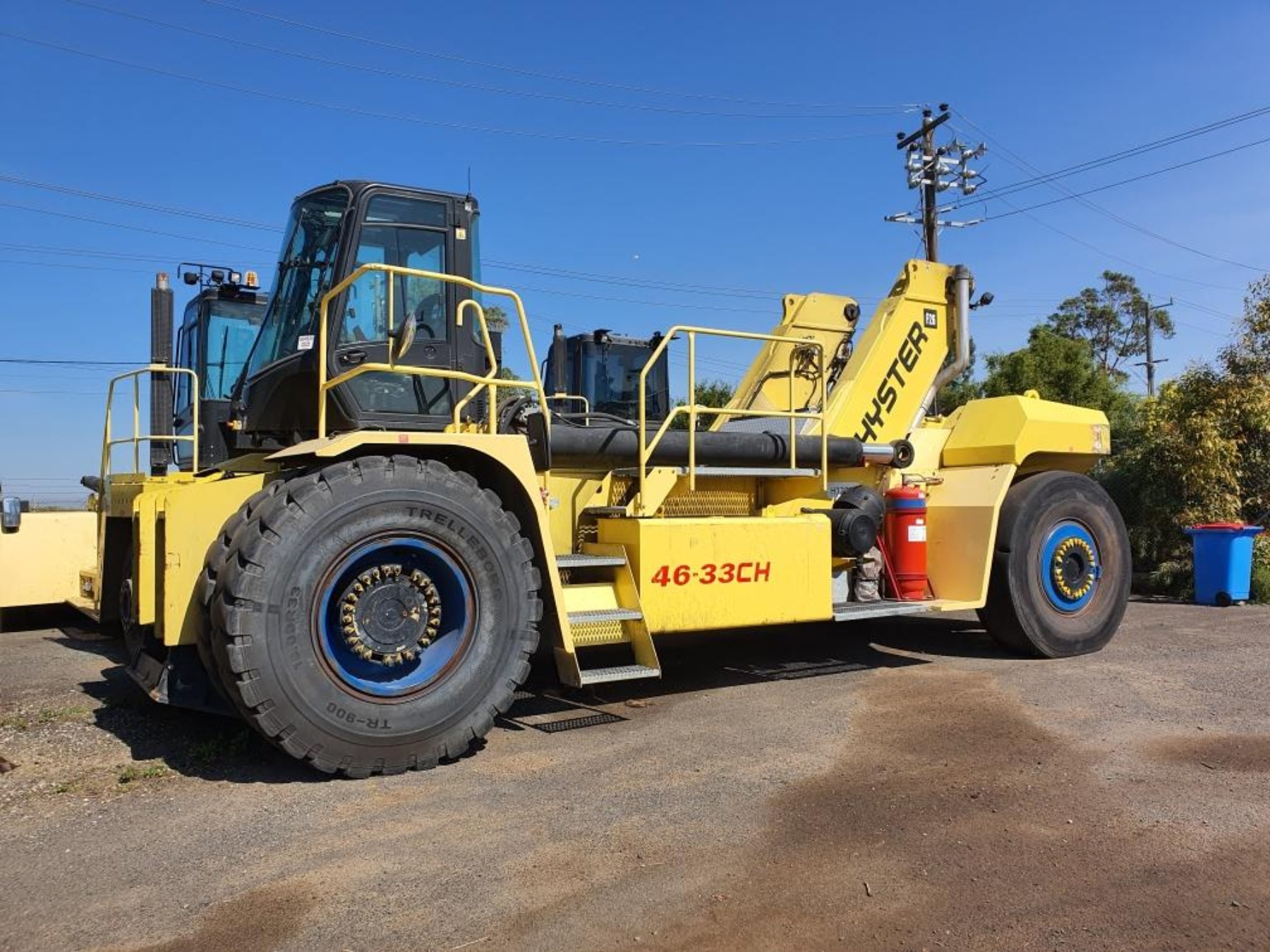 Used forklift: HYSTER RS46-41LSCH