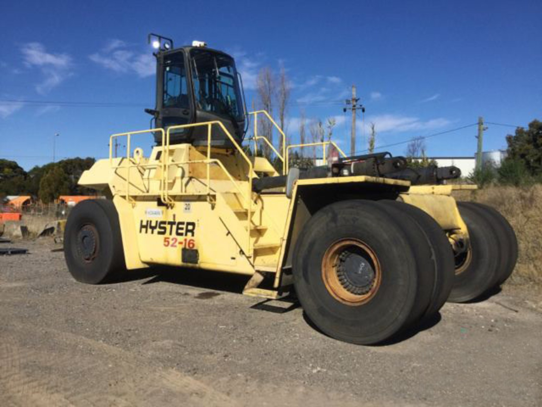 Used forklift: HYSTER H52.00XM-16CH