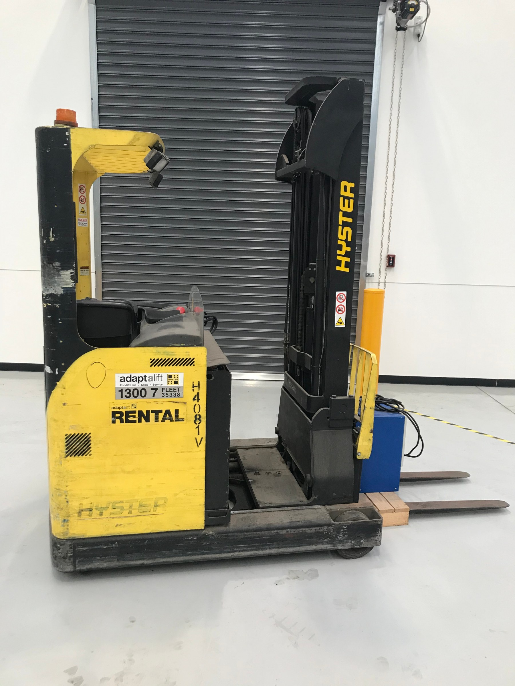Used forklift: HYSTER R1.4