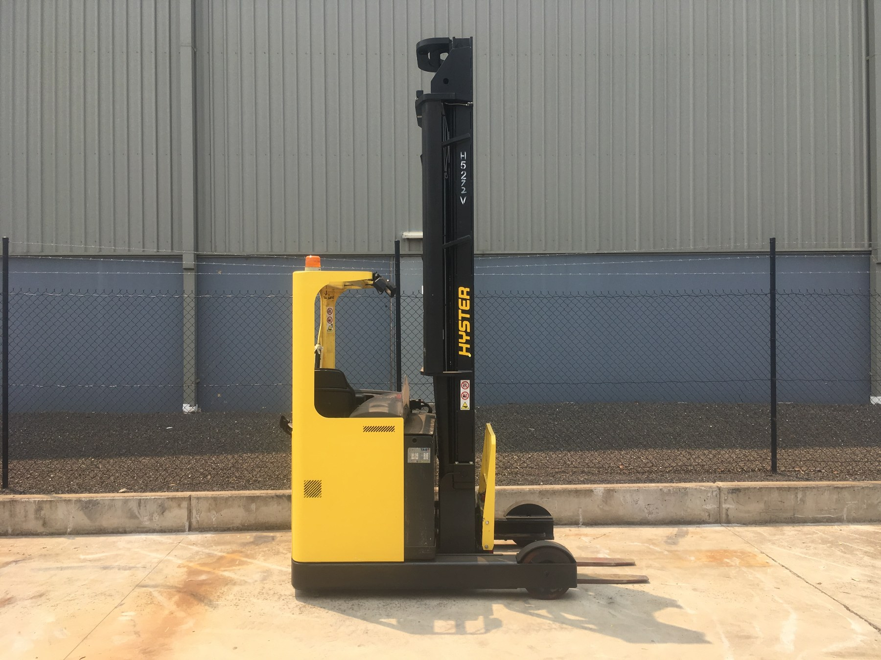 Used forklift: HYSTER R2.0H