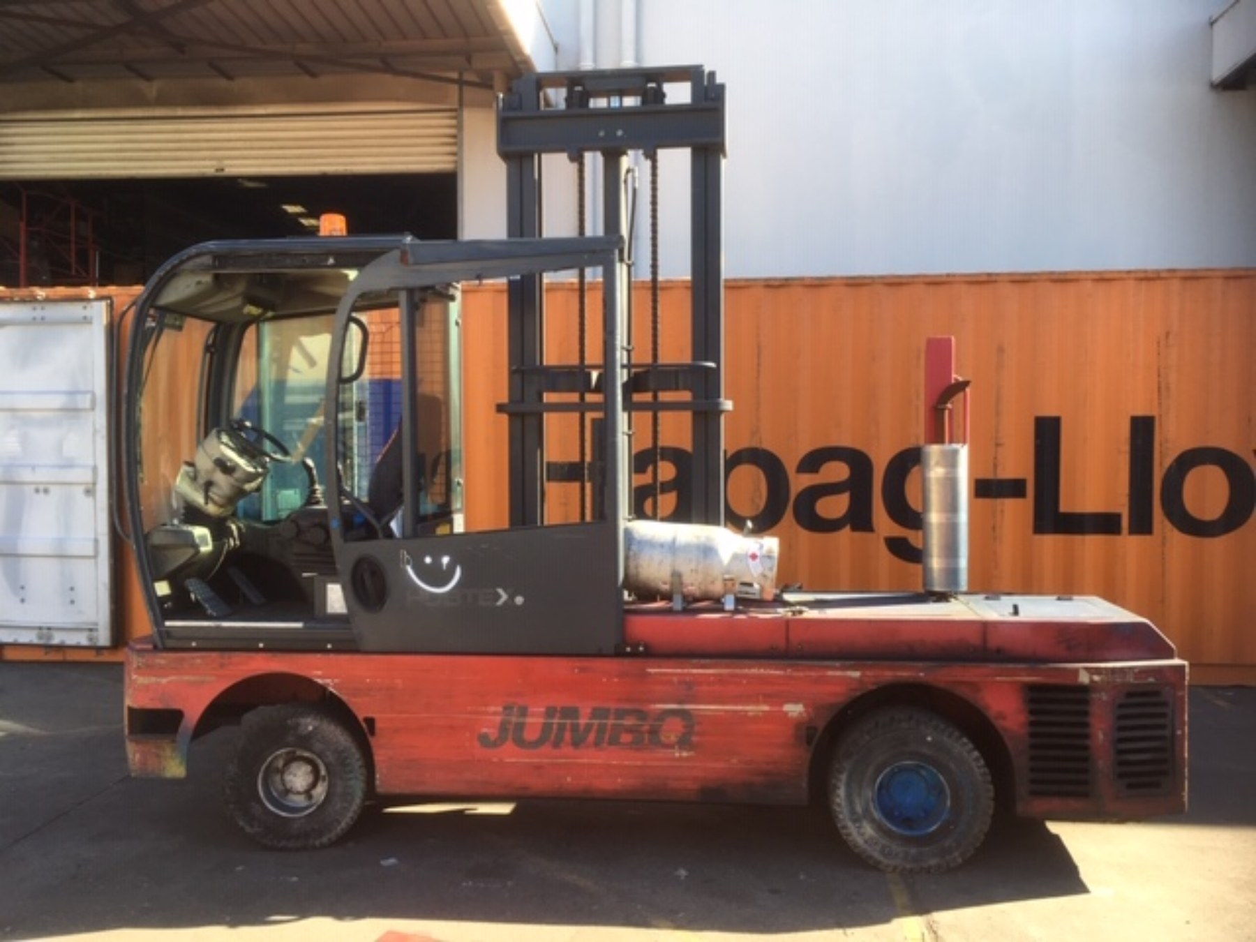 Used forklift: HUBTEX JGQN50-12-50
