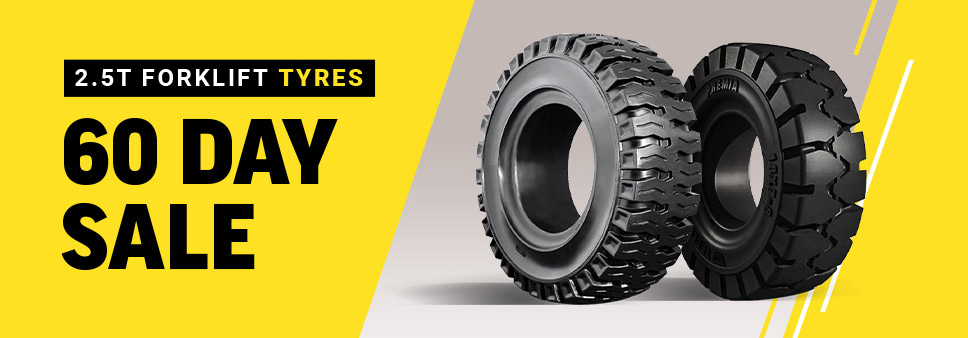 2.5T Forklift Tyres 60 Day Sale